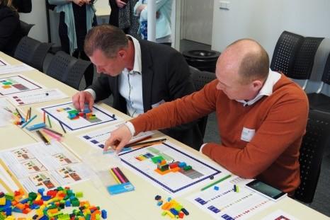 Legogame - Lean in de Bouw