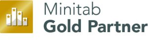Symbol is Minitab Gold Partner
