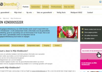 GGD Drenthe start met Mijn Kinddossier, met hulp van Symbol
