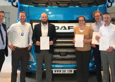 Symbol traint DAF Trucks in 'interne auditing IATF'