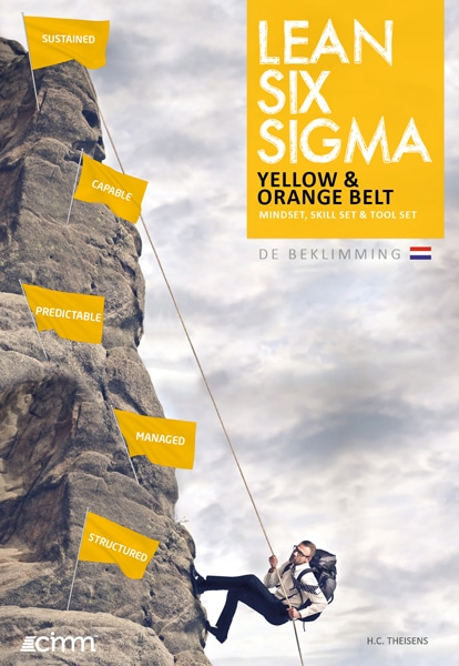 lean six sigma yellow belt boek