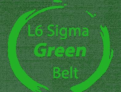 6 sigma green