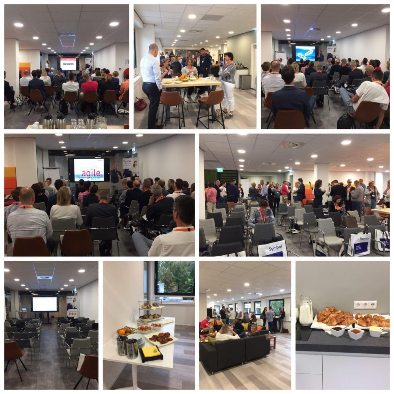 Inspirerende ontbijtbijeenkomst over competentiegericht 70-20-10 leren en Agile & Lean