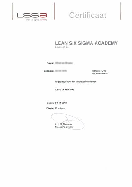 leangreenbelt cert